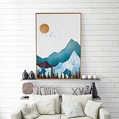 Top Quality Design, Elegant Creative Design, Framed Home Artwork Nordic Style Abstract Color for Living Room Bedroom