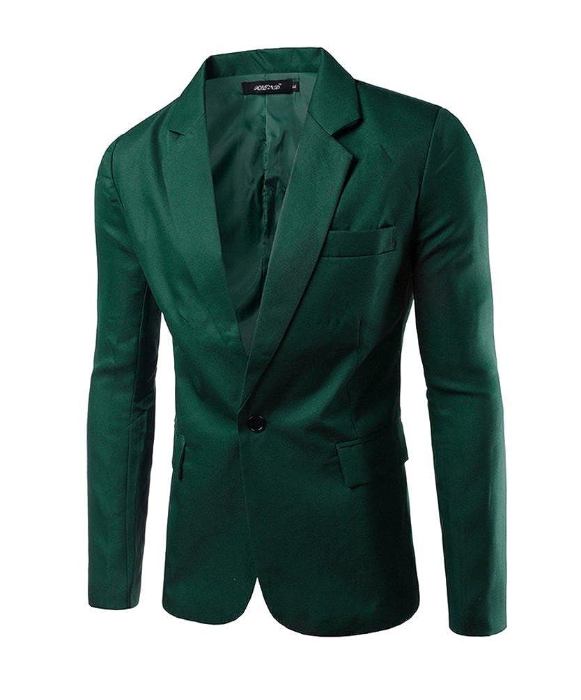 YSMO Herren Anzüge Slim Fit Checkered Schwarz Anzug 2 Stück Blazer Jacke  und Hose YSMO18030703 5fd63afb29