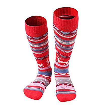 Culturemart New Winter Socks for Boys Girls Snow Ski Sock Sports Soccer Sock Warm calcetines Deporte
