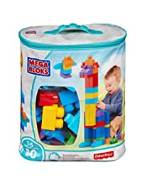 Mega Bloks 80-Piece Big Building Bag, Classic BOBEBE Online Baby Store From New York to Miami and Los Angeles