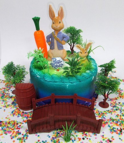 PETER RABBIT Birthday Cake Topper Set ()