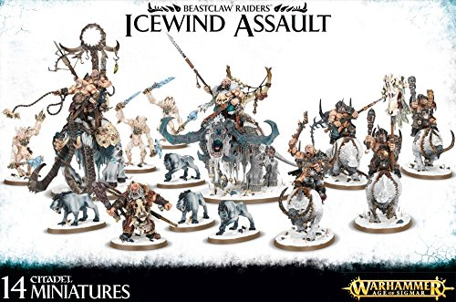 Warhammer Age of Sigmar - Beastclaw Raiders : Icewind Assault