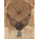 Steampunk Cosplay Gear Chain Necklace Jewelry for Adults 4
