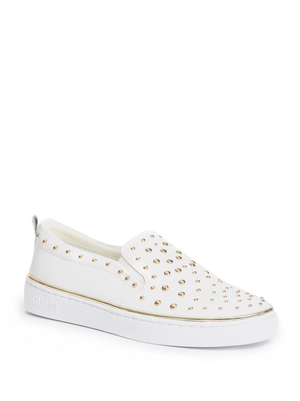 GUESS FLGOE1 LEA12 Zapatos Mujeres 37 EU|Blanco