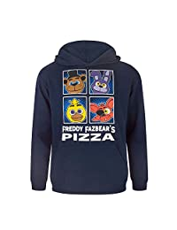 Five Nights At Freddys Childrens/Boys Official Character Panels Hoodie