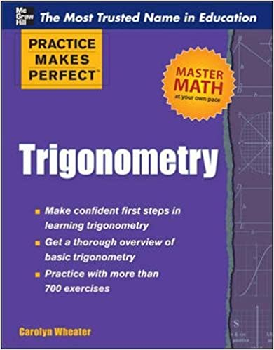 Amazon.com: Trigonometry (Practice Makes Perfect Series ...