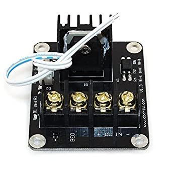 Wangdd22 3D Printer Hot Bed Power Expansion Board / Heatbed Power Module / MOS Tube High Current Load Module