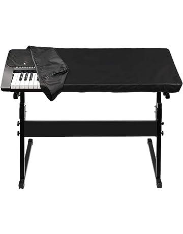 antipolvere per pianoforte 61//88 fits 61//88 Keys Viola Copertura per tastiera 61//88 tasti QEES GQZ05