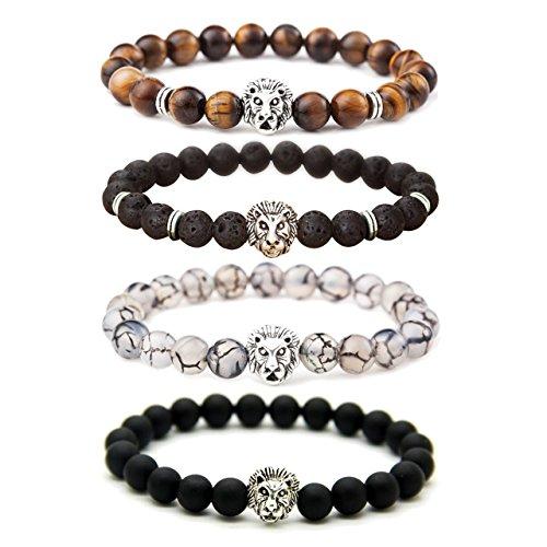 MIKINI Unisex Mens Bracelets Set