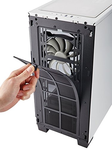 Corsair CARBIDE 400C Compact Mid-Tower Case, Window Side Panel - White by Corsair (Image #5)