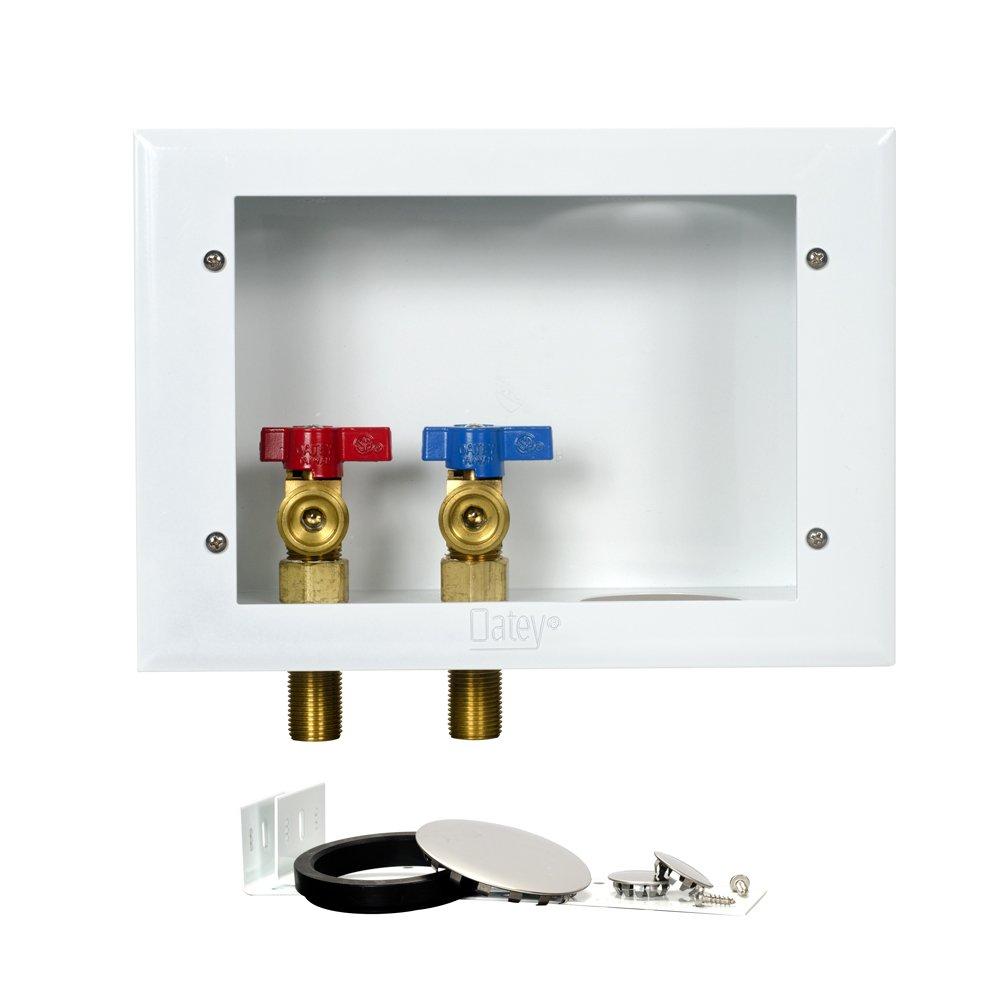 Copper Sweat Oatey 38985 1//4 Turn Brass Ball Valves 2-Inch Rubber Tailpiece Standard Pack 2-Inch