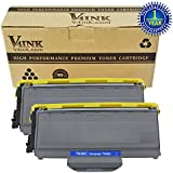 V4INK ® 2PK New Compatible with Brother TN360 TN330 Black Toner Cartridge for Brother HL-2140 HL-2170W DCP-7030 DCP-7040 MFC-7340 MFC-7345N MFC-7440N MFC-7840W Series Printers