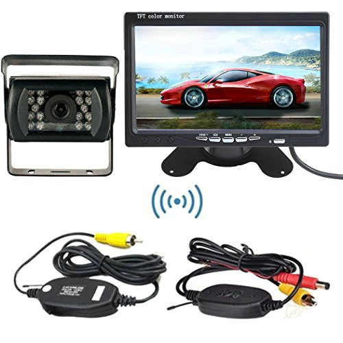 wireless backup camera truck f - 9