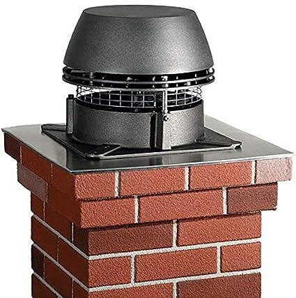 amazon com enervex fan chimney fan rs 9 12 x 12 home kitchen