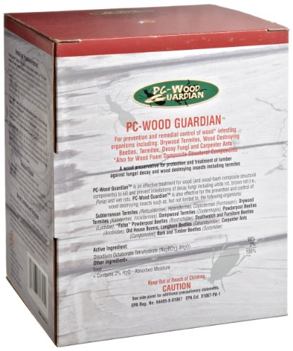 PC Products 608012 Borate Powder PC-Wood Guardian, 5 lbs Container, - Pc Guardian Wood
