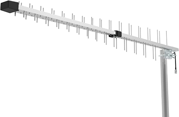 Log Periodic Directional Yagi Antena 15 dbi. Ganancia para 3G 4G LTE XLTE AWS IDEN PCS 698 MHz-2700 MHz Banda Ancha Completa