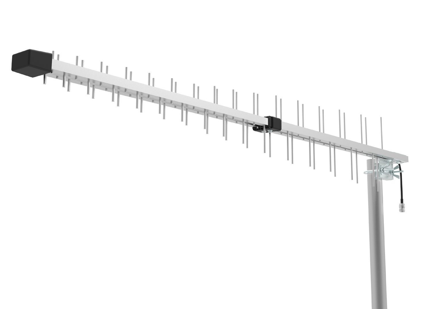 Log Periodic Directional Yagi Antenna 15dbi Gain for 3G 4G LTE XLTE AWS IDEN PCS 698MHz-2700MHz Wide Band Full Band by maxmostcom