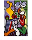 Posters: Pablo Picasso Poster Reproduction - Nature Morte I (50 x 40 cm)