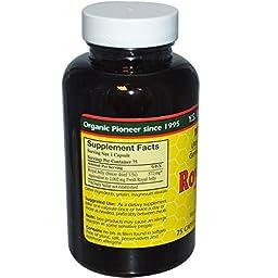100% Pure Freeze Dried Fresh Royal Jelly - 2000 mg YS Eco Bee Farms 75 Caps