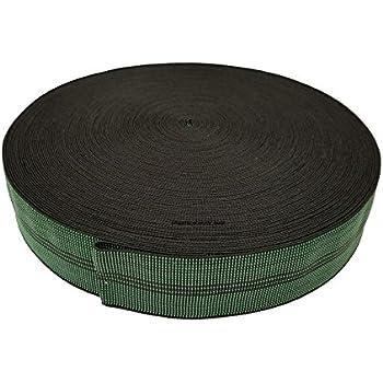 Upholstery Web Stretcher /& 33m Black /& White Webbing