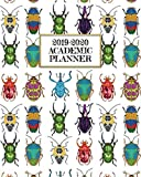 Academic Planner 2019-2020: Beautiful Insects on A Weekly and Monthly Dated Student Academic Planner. Elementary, High School, Home school, College ... Back To School (2019 2020 Academic Planner)