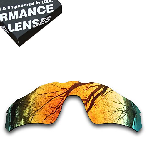 ToughAsNails Polarized Lens Replacement for Oakley Radar EV Path Sunglass - - Orange Ev