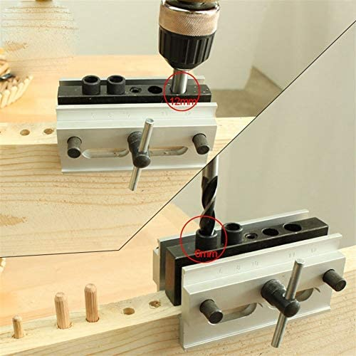 Xa 90° Right Angle Punch Locator Rung Pin Hole Perpendicular Drilling Fixture Woodworking Locator