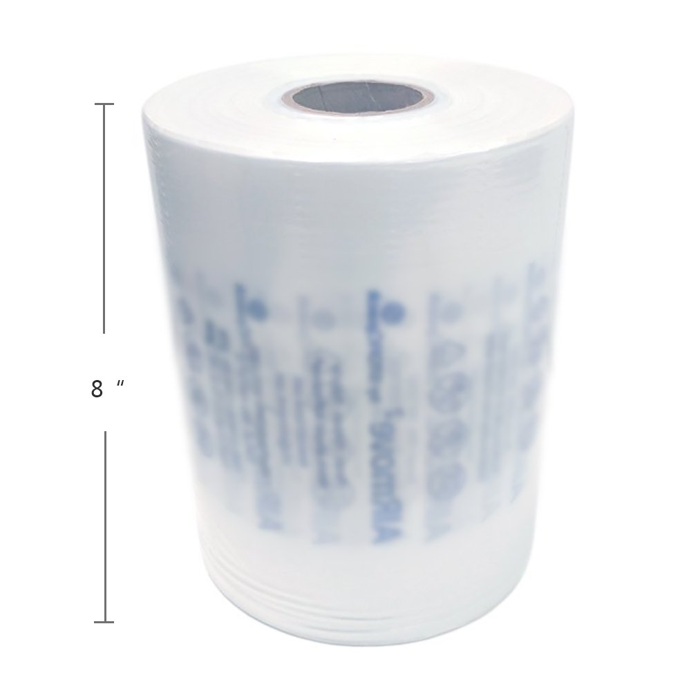Air Bubble Double Cushion Film Roll for Mini Pak'r and Other Air Cushion Machines W8 Inches x L984 Feet