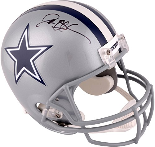 Deion Sanders Dallas Cowboys Autographed Riddell Replica Helmet - Fanatics Authentic Certified - Autographed NFL Helmets