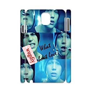 wugdiy Brand New Phone 3D Case for Samsung Galaxy Note 3 N9000 with diy Austin Mahone