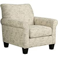 Signature Design by Ashley 4760021 Baveria Chair, Gray