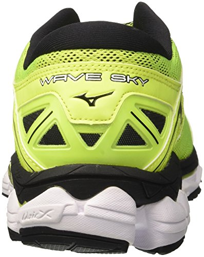 Mizuno Men's Wave Sky Running Shoes Multicolor (Safetyyellowsafetyyellowblack) KTiyNKAN