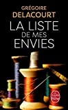 la liste de mes envies litterature documents french edition by g delacourt 2013 05 29