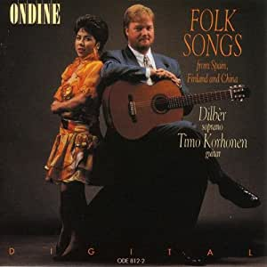 Folk Songs for Soprano and Guitar from Spain, Finland & China