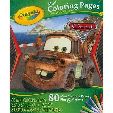 Crayola Mini Coloring Pages - Disney Cars Race 'O Rama ()