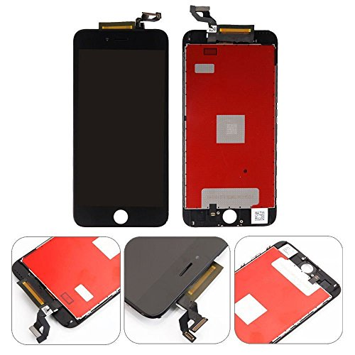 QTlier For iPhone 6S Retina LCD Touch Display Replacement Screen With Digitizer Assembly Free Tools(Black) by QTlier (Image #2)