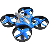 RC Drone, Anyren Mini 2.4G 4CH 6Axis Gyro Headless Altitude Hold LED Remote Control RC Quadcopter (Blue)