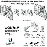 Ubiquiti airGrid M2 HP 5-pack 2.4GHz 16dBi Airmax CPE 100+Mbps 30km+ PoE