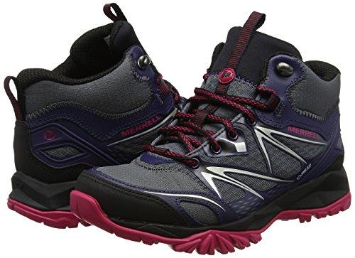 Rise De Mujer Para High Gore plum Senderismo Zapatos tex Bolt Merrell Capra Multicolor Mid Plumeria qwZ88Y