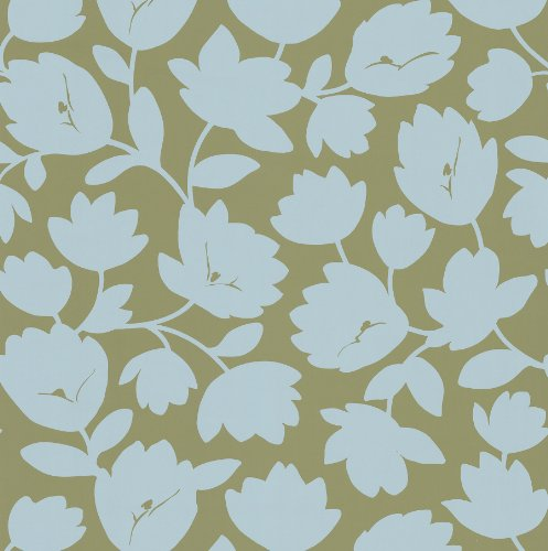 - Kenneth James 566-43944 Echo Design Freesia Beige Fun Floral Wallpaper