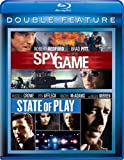 DVD : Spy Game / State of Play [Blu-ray]