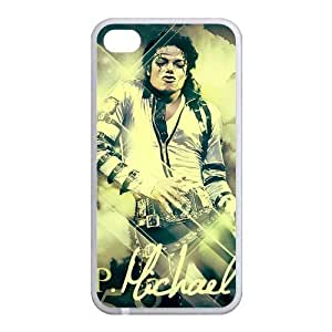 Custom Michael Jackson Back Case for iphone4,4S JN4S-050