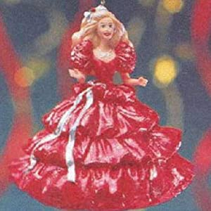 Happy Holidays Barbie 1st in series 1996