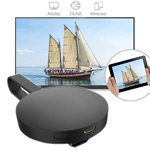 TraderPlus Wireless WIFI Display Dongle, 1080P HDMI TV Miracast DLNA Airplay Receiver Screen Mirror Adapter for IOS/Android / Windows/Mac by TRADERPLUS