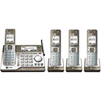 AT&T 4 Handset Cordless Phone 4 Handset Connect to Cell™ Answering System with Dual Caller ID