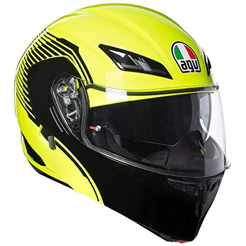 AGV Numo EVO ST Helmet - Vermont (Large) (Yellow Fluo/Black)