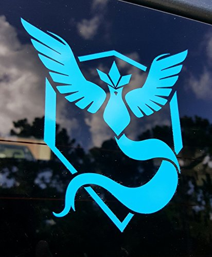 Team Mystic (Blue) Decal Sticker by Stick'emAll - (Pokemon GO Inspired)