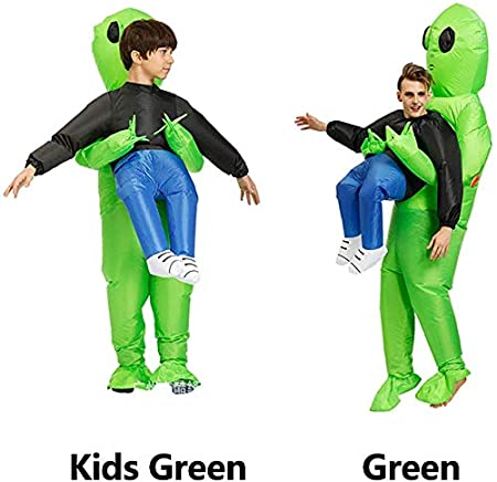 xiegons0 Alien Pick Me Up Inflable Disfraz Alien Inflable Traje ...