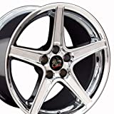 18x10 Wheel Fits Ford - Mustang Saleen Style Chrome Rim- REAR