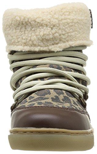 Le Temps des Cerises Ltc Mountain Damen Stiefel & Stiefeletten Braun - Marron (Leopard)